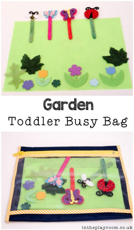 Simple Garden Busy Bag