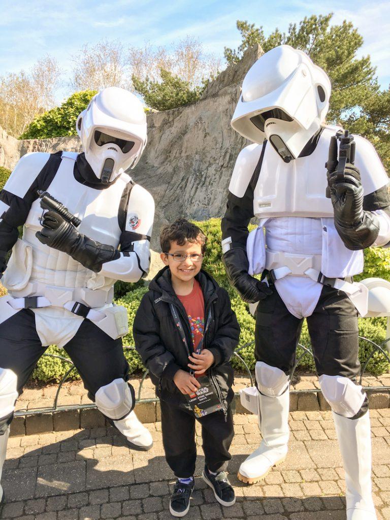 Legoland Star Wars Miniland and Star Wars Day