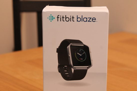 Trying out the Fitbit Blaze