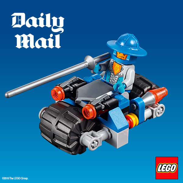 Free Lego toys offer in the Daily Mail this weekend