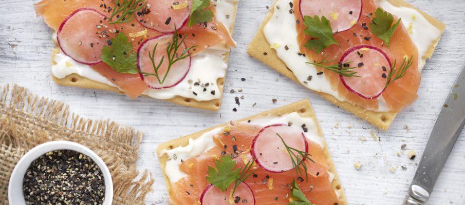 Primula Smoked Salmon Cracker