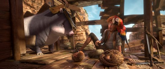 Robinson Crusoe Movie Review & Win a DVD Bundle