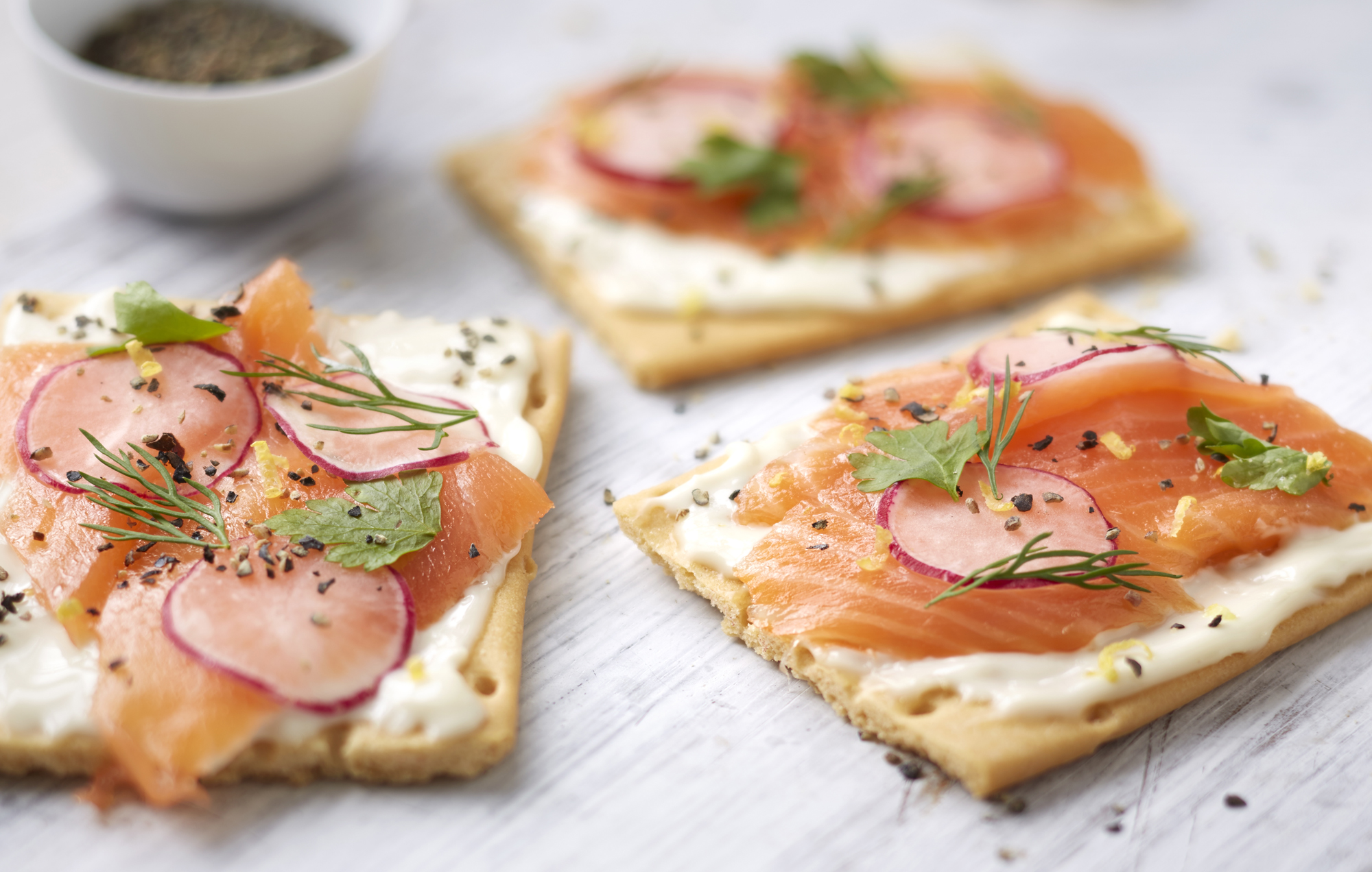 Swish Smoked Salmon Primula Snack