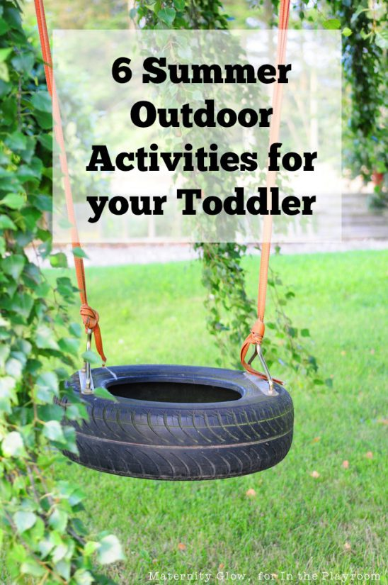 6 Outdoor Activities to Do With Your Toddler This Summer