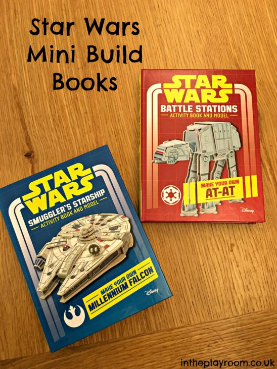 Star Wars Mini Build Books for Father's Day (with Giveaway)