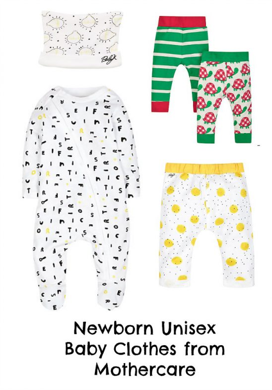 Newborn Unisex Baby Clothes from Mothercare