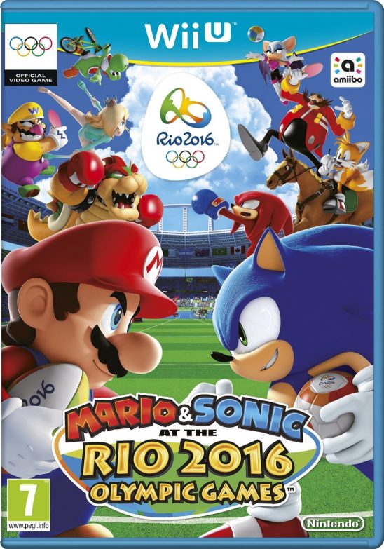 Mario and Sonic at the Rio 2016 Olympic Games on Nintendo Wii U