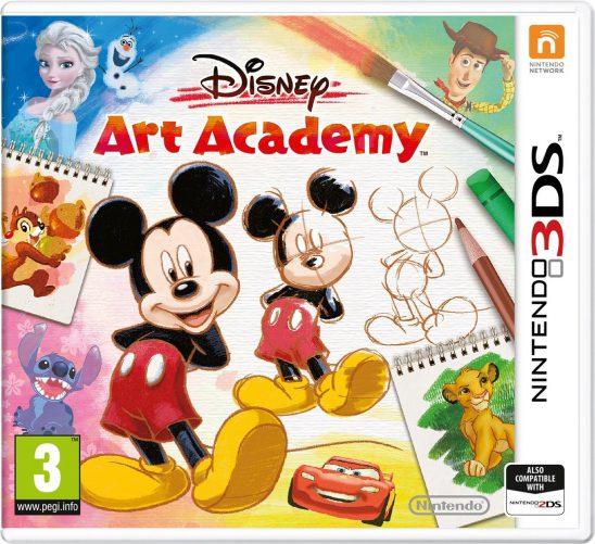 Disney Art Academy on Nintendo 3DS