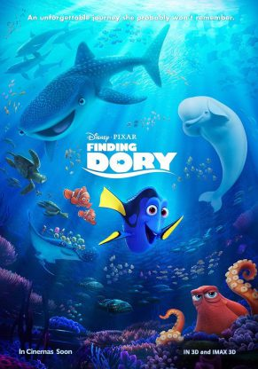 Finding Dory Movie Review & Change4Life #JustKeepMoving