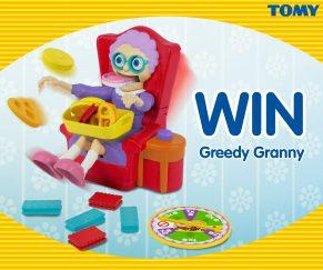 Win TOMY Greedy Granny Game
