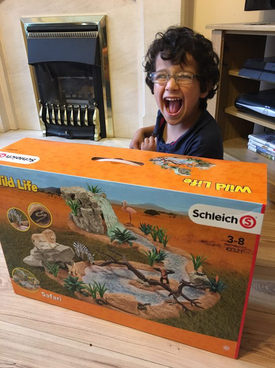 Schleich Wild Life Watering Hole Review