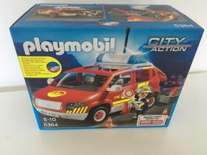 Playmobil Fire Chief Car Review