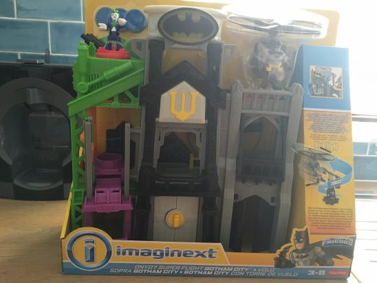 Imaginext Superflight City Review