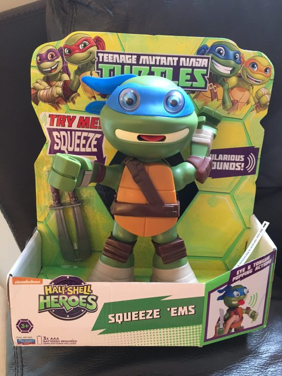 TMNT Half-Shell Squeeze Em's Review
