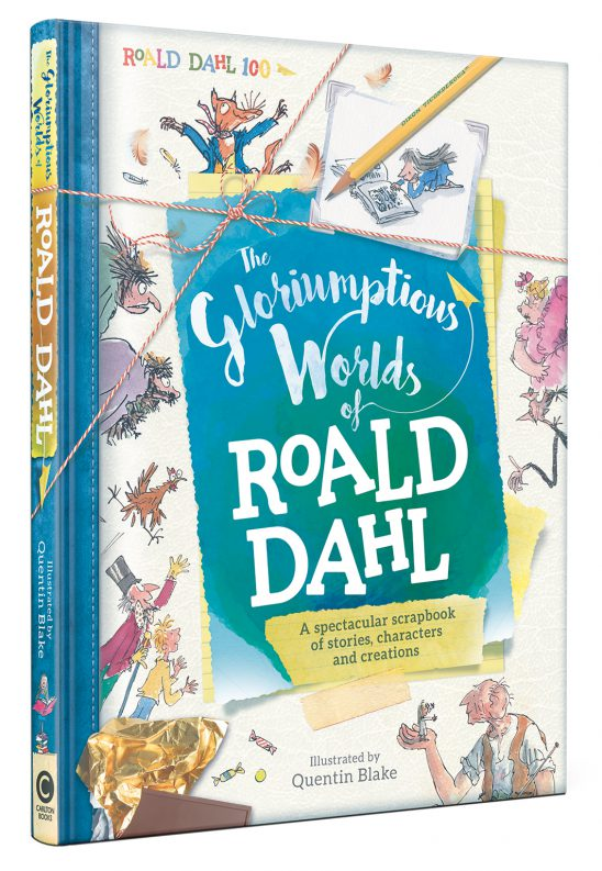 The Gloriumptious Worlds of Roald Dahl Review & Giveaway