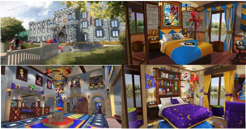 Nexo Knights 4d Show At Legoland And New Legoland Castle