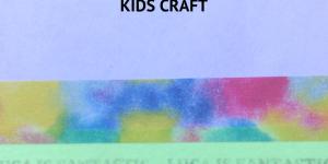 DIY Personalised Washi Tape Craft For Kids