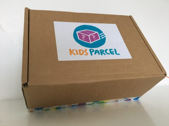 Kids Parcel Mystery Surprise Box Unboxing and Review
