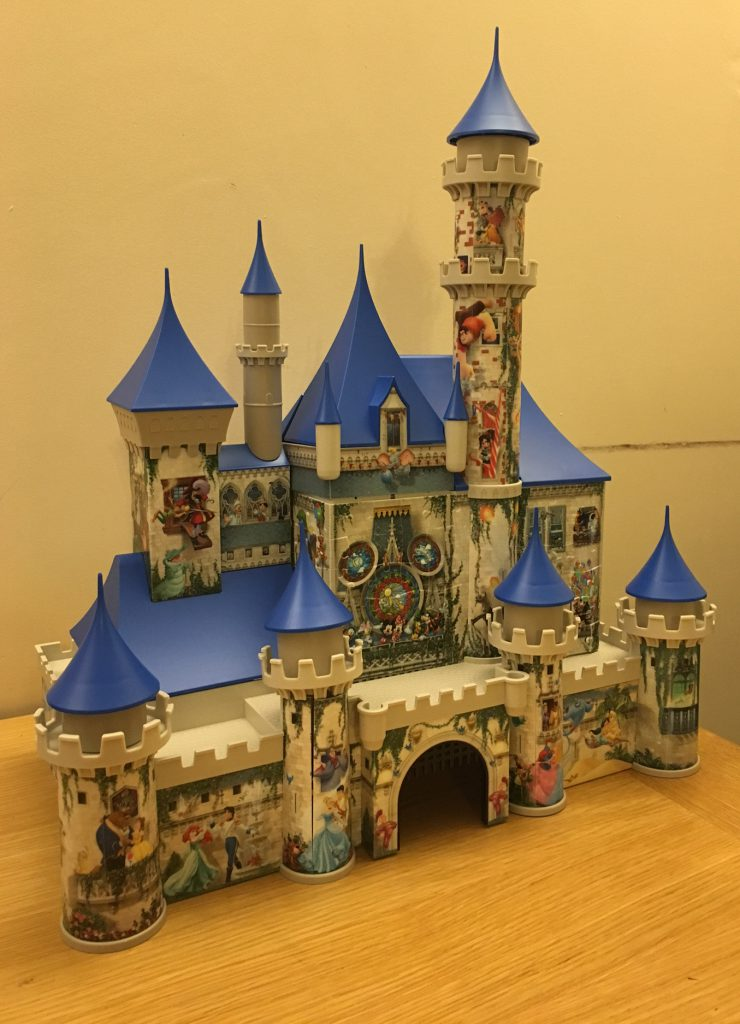 Ravensburger 3d Puzzle Disney Castle Review In The Playroom