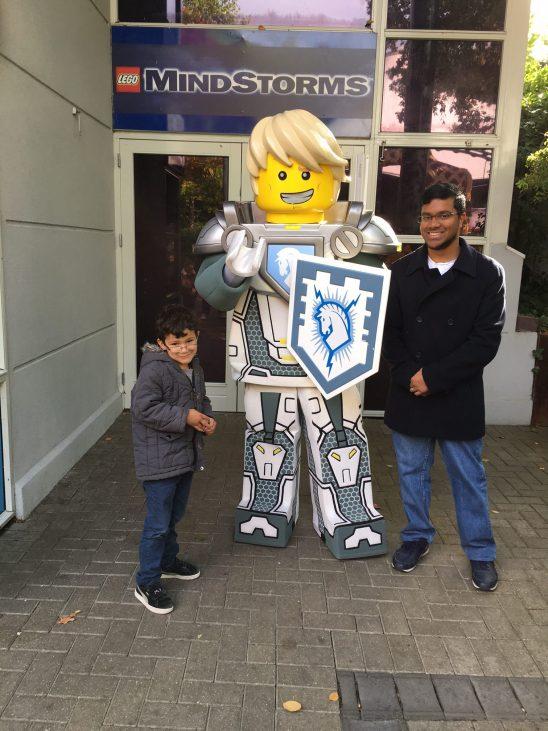 Legoland Nexo Knights Fireworks