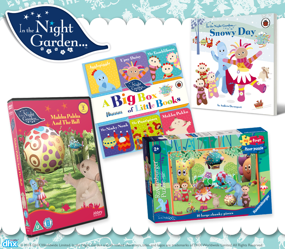 In The Night Garden Prize Bundle Giveaway