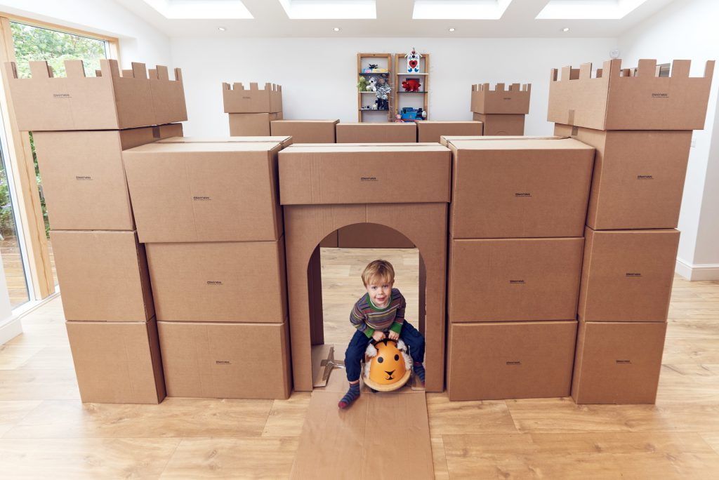 Six tips to help make moving easier for kids and fun new for Moving into a new build house tips