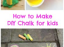 DIY Chalk Recipe