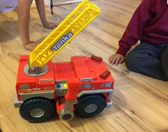 Tonka My First Strong Arm Fire Truck Review