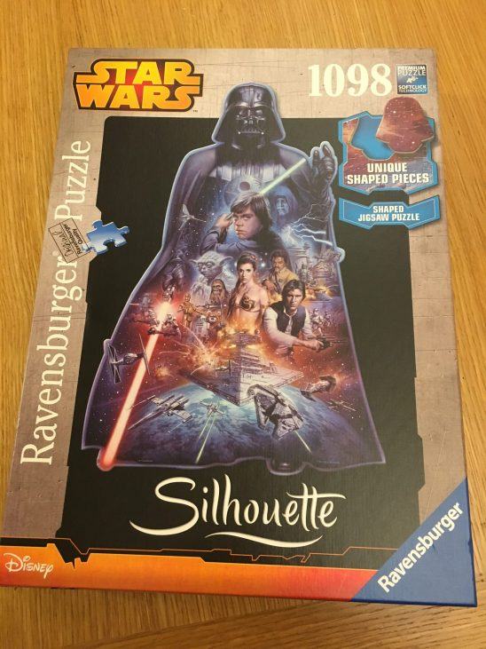 Ravensburger Darth Vader Silhouette Star Wars Puzzle Review