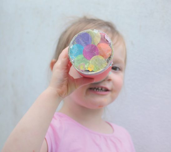 Make your own Kaleidoscope Craft