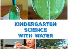 Fun Science For Kindergarten With Water