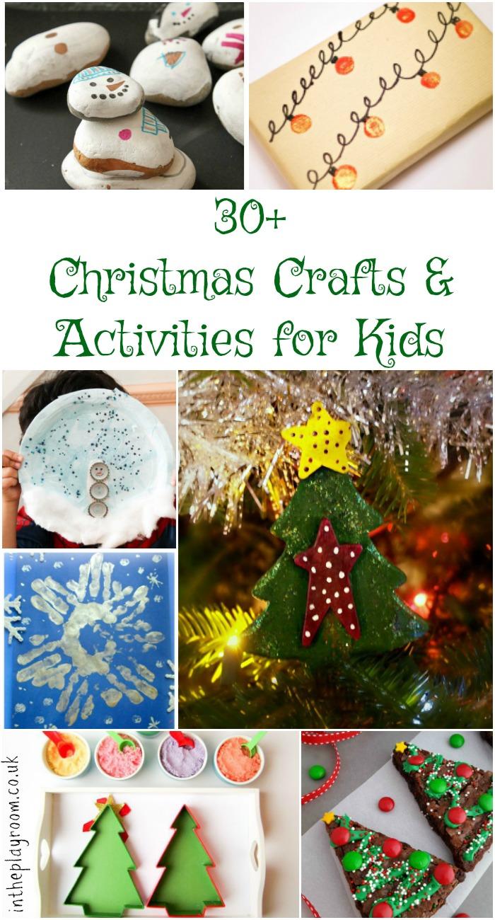 Preschool Xmas Calendar Ideas : Kids christmas crafts activity advent calendar in the