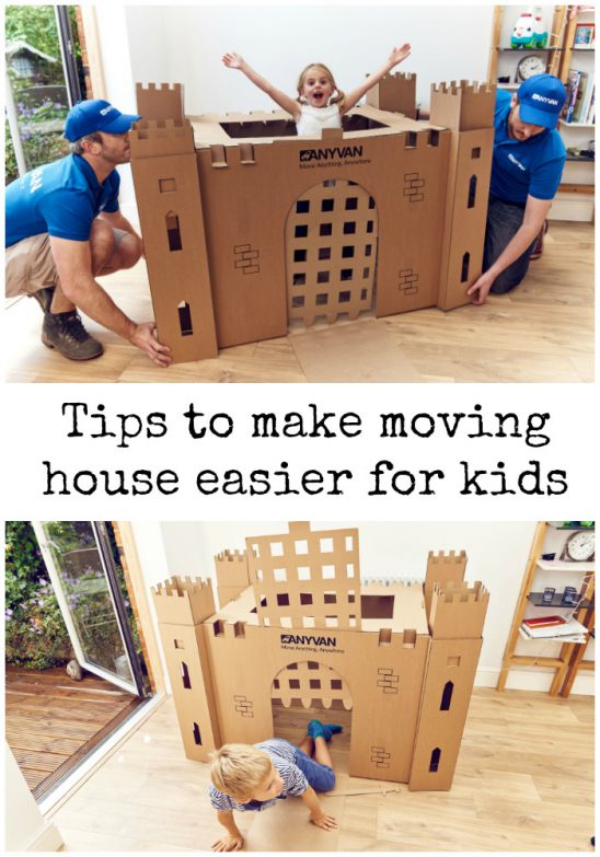 Six tips to help make moving easier for kids, and fun new BoxForts