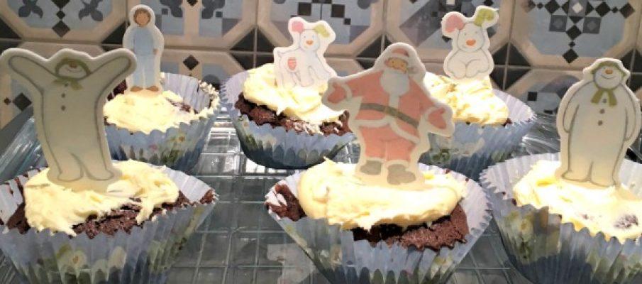 snowman-cakes