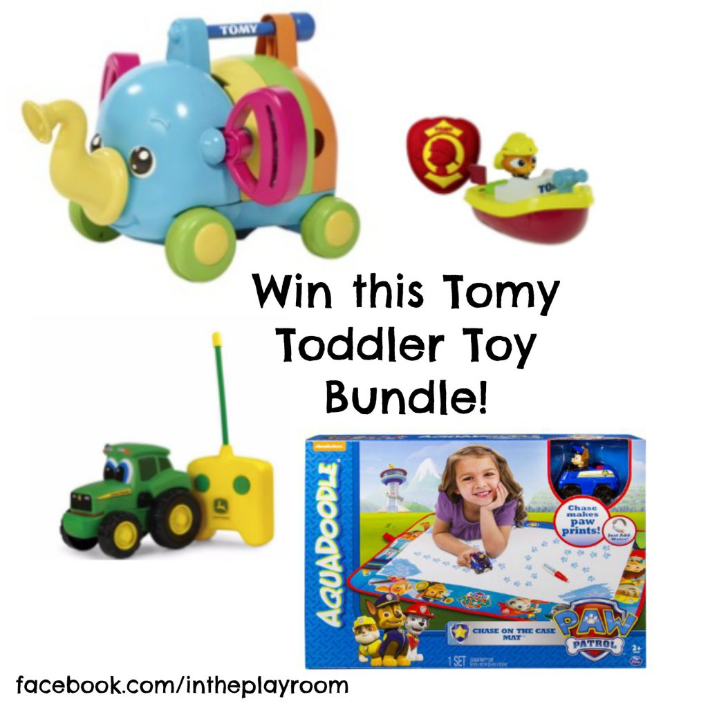 Win a Tomy Toddler Toy Bundle