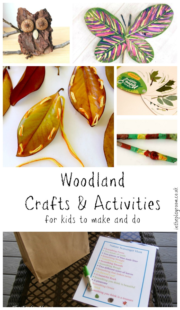 Woodland Crafts & Activities for Kids