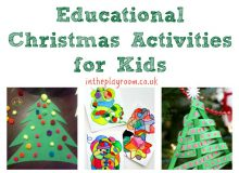 Educational Christmas Activities for Kids