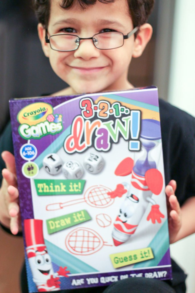 Crayola 3,2,1 Draw Review #CrayolaGames