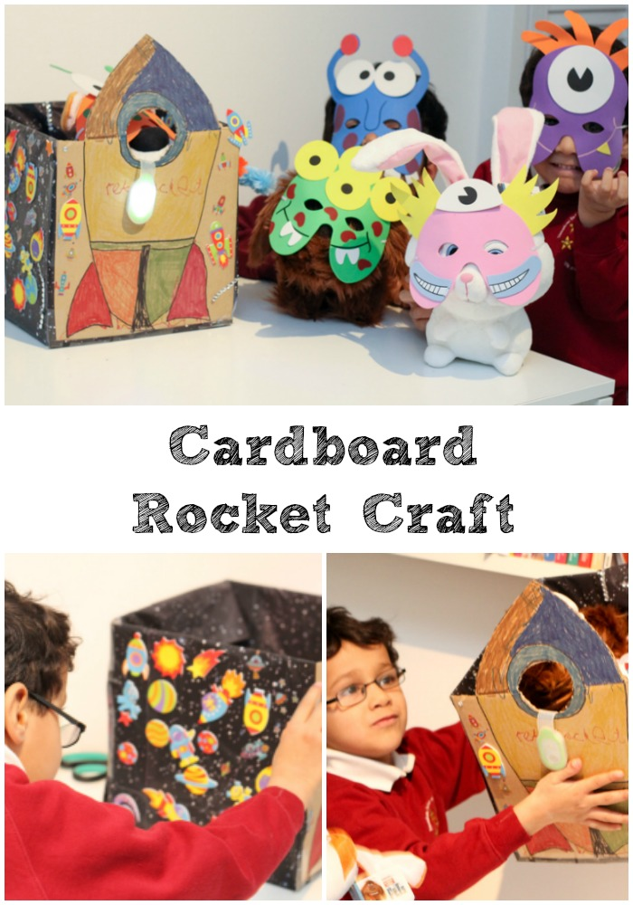 Making a Cardboard Rocket Bed with Energizer and The Secret Life of Bed