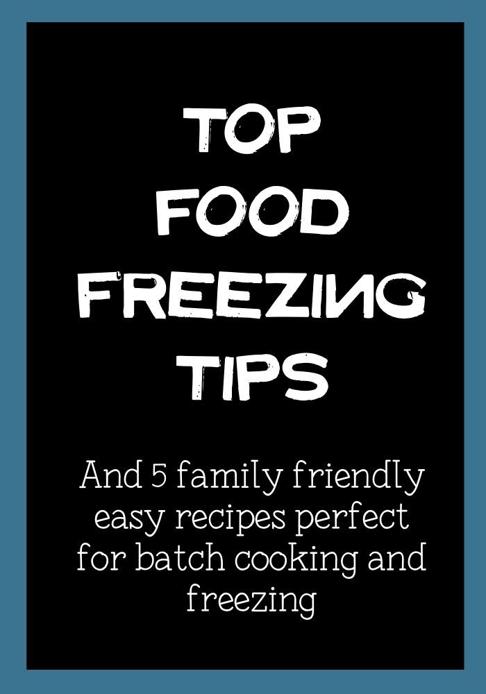 freezing-tips