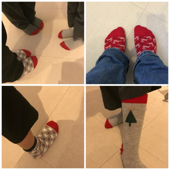 Christmas Sock Day!
