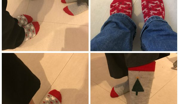 Christmas Sock Day!