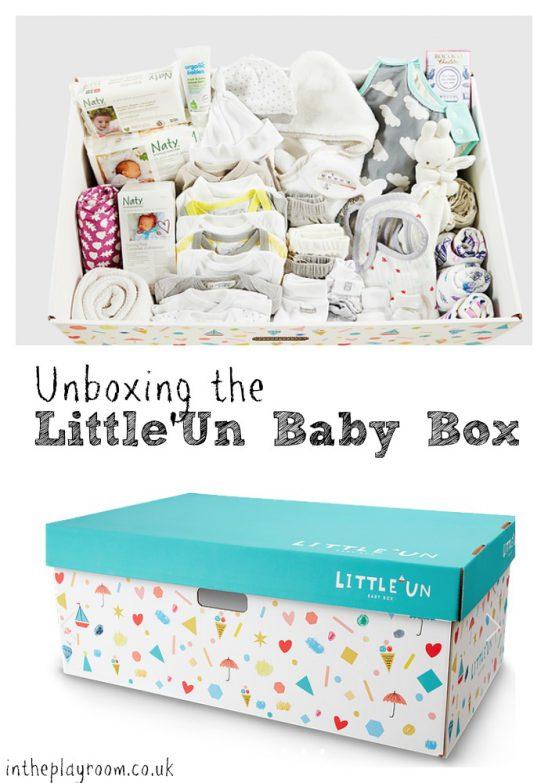 Unboxing the Little'Un Baby Box
