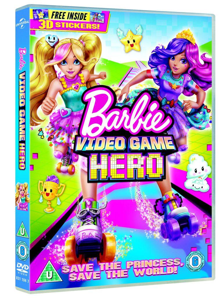 Win a Barbie Video Game Hero Bundle!