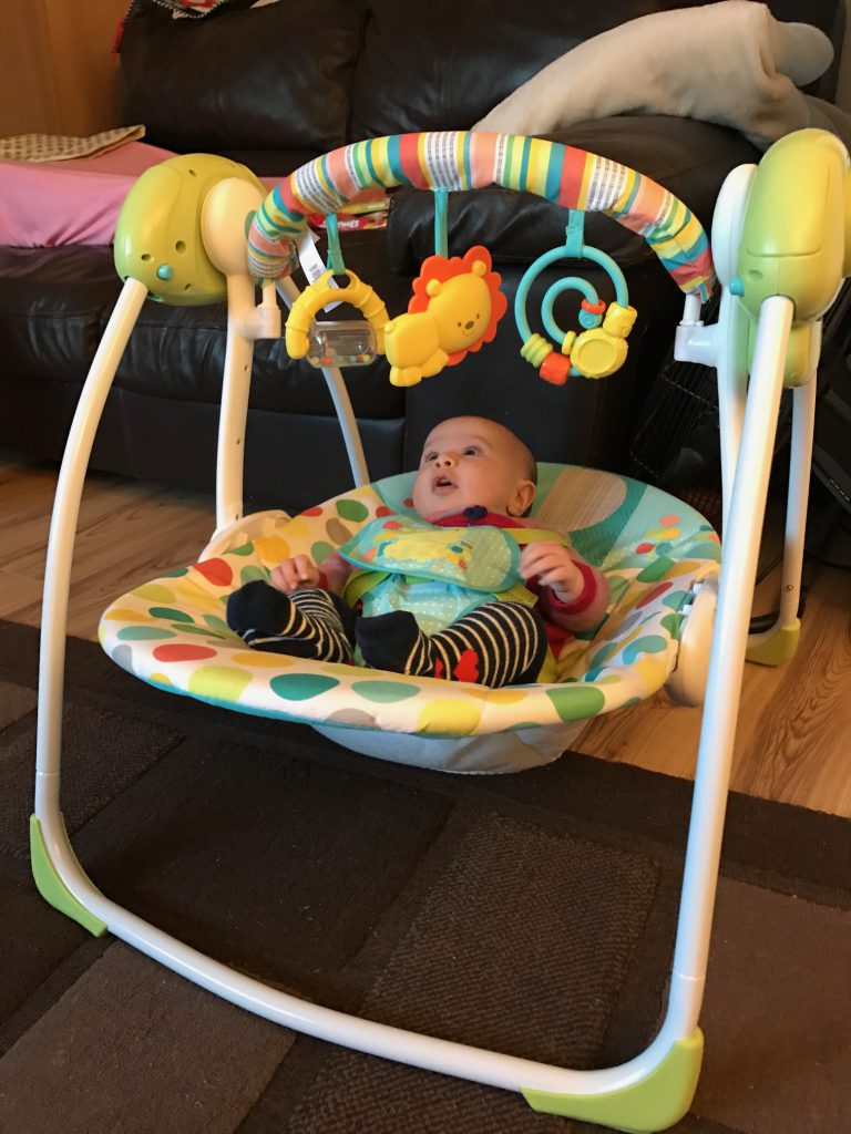 Chad Valley Baby Swing Review