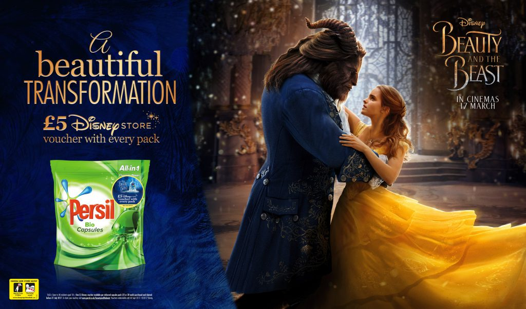 A Messy Screening of Beauty & The Beast with Persil