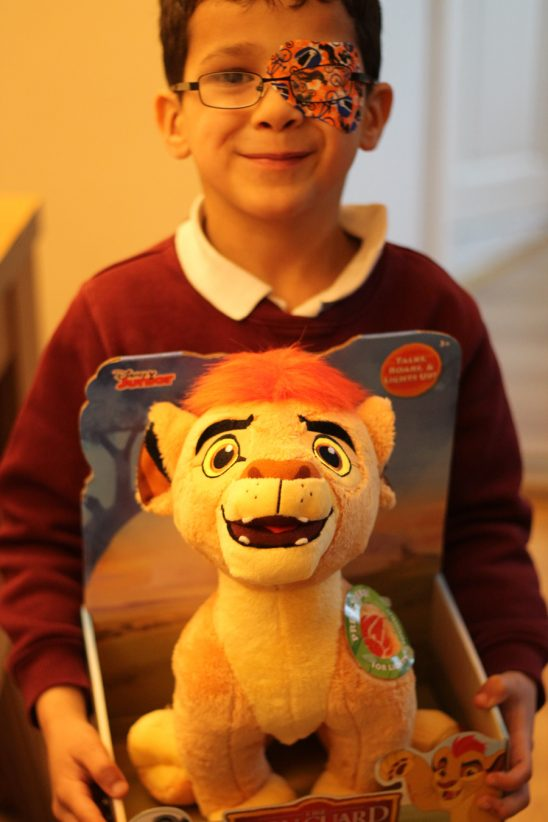 Lion Guard Talking Plush Kion Review