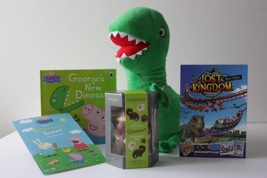 Easter Giveaway with Paultons Park Home of Peppa Pig and Lost Kingdom