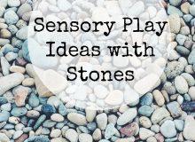 Sensory Stone Play