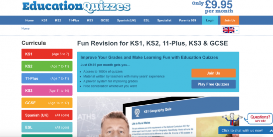 Fun Learning with Education Quizzes